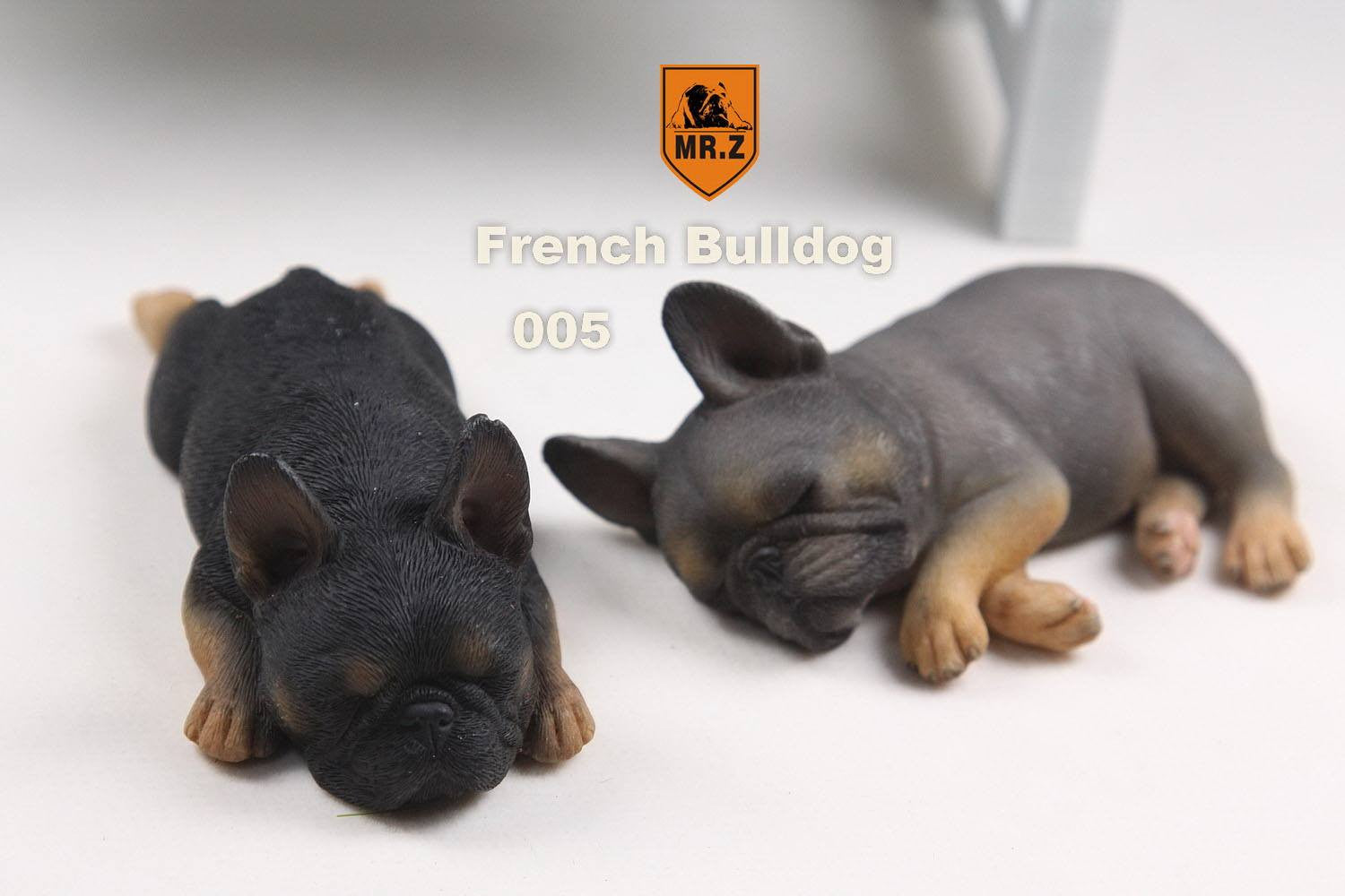 MR.Z - Real Animal Series No.9 - 1/6th Scale French Bulldog (Sleep Mode) 001-005 - Marvelous Toys - 22