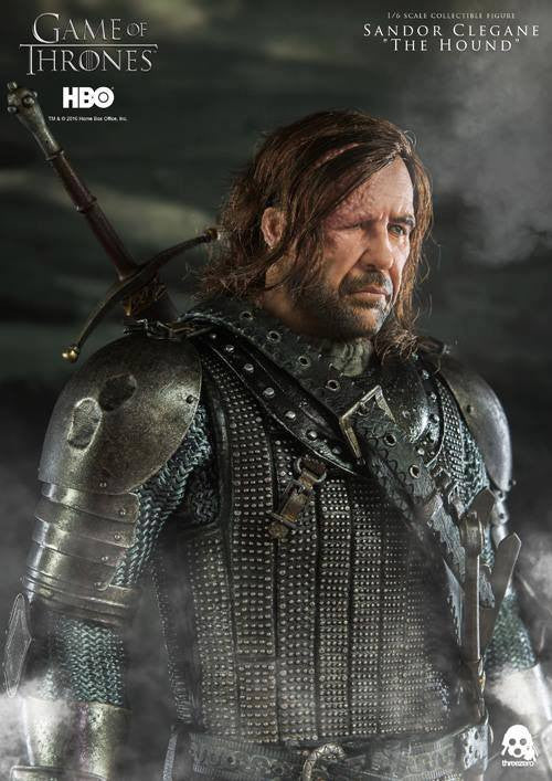 "ThreeZero - Game of Thrones - Sandor Clegand ""The Hound"" - Marvelous Toys - 6"