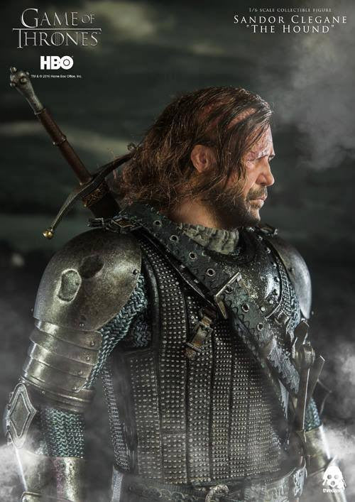 "ThreeZero - Game of Thrones - Sandor Clegand ""The Hound"" - Marvelous Toys - 7"