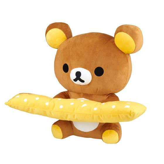 Bandai Online Exclusive - Rilakkuma PC Cushion - Marvelous Toys - 6