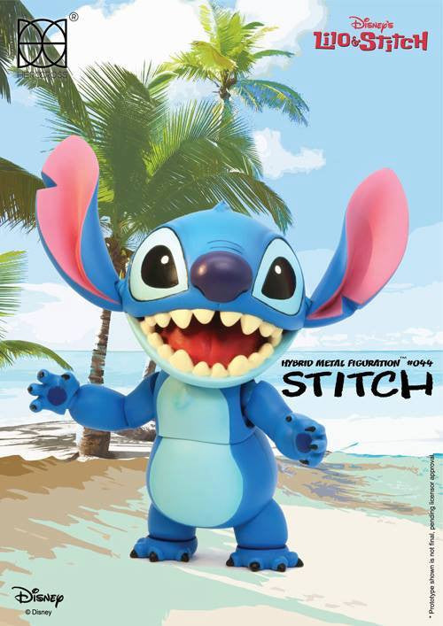 Herocross - Hybrid Metal Figuration HMF044 - Stitch - Marvelous Toys - 6
