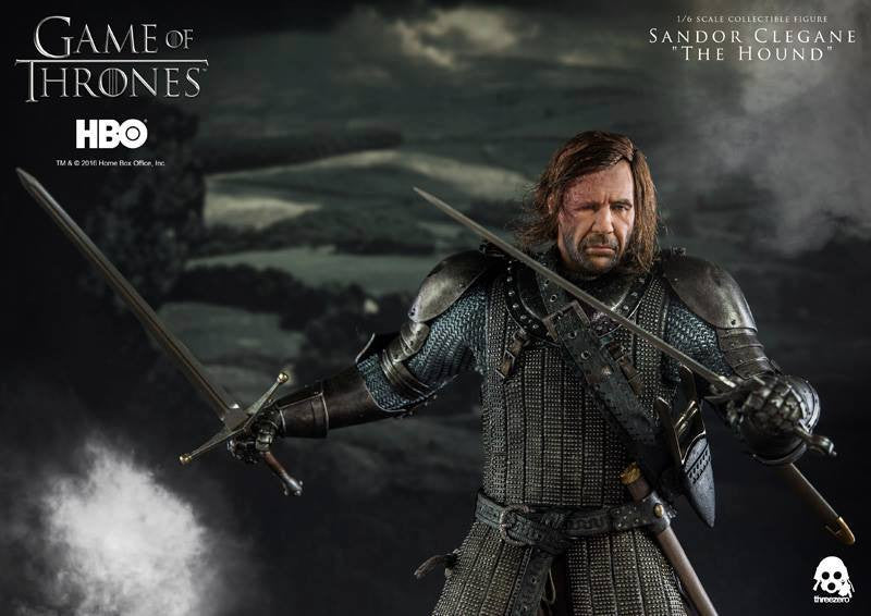 "ThreeZero - Game of Thrones - Sandor Clegand ""The Hound"" - Marvelous Toys - 8"