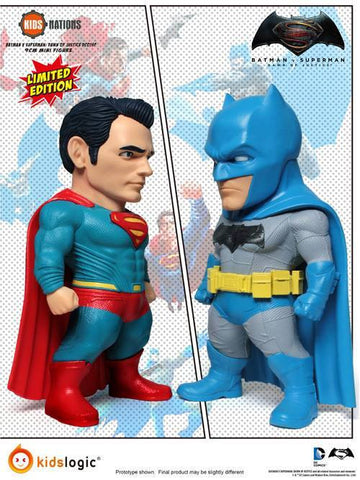 Kids Nations - DC01SP - Batman v Superman: Dawn Of Justice - Limited Edition Set of 2 - Marvelous Toys - 1