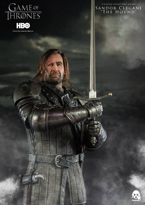"ThreeZero - Game of Thrones - Sandor Clegand ""The Hound"" - Marvelous Toys - 9"