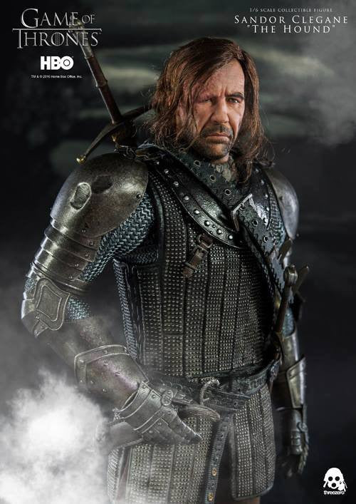 "ThreeZero - Game of Thrones - Sandor Clegand ""The Hound"" - Marvelous Toys - 10"