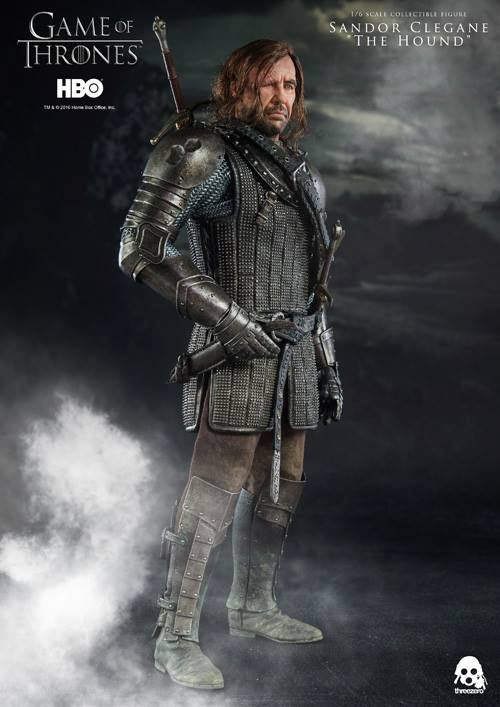 "ThreeZero - Game of Thrones - Sandor Clegand ""The Hound"" - Marvelous Toys - 11"