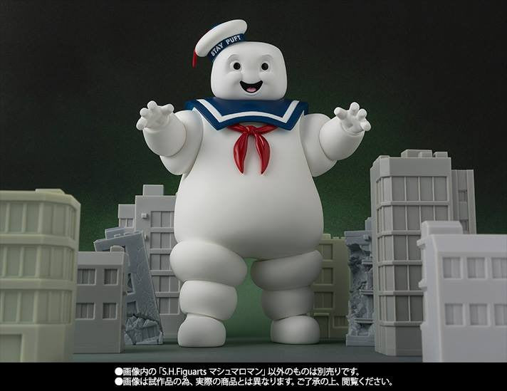 S.H.Figuarts - Ghostbusters - Stay Puft Marshmallow Man (TamashiiWeb Exclusive) - Marvelous Toys - 5