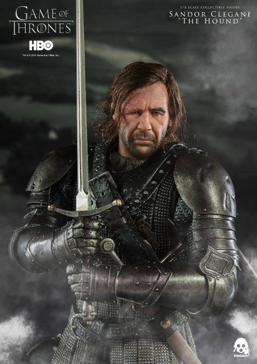 "ThreeZero - Game of Thrones - Sandor Clegand ""The Hound"" - Marvelous Toys - 12"