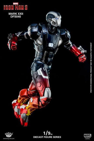 King Arts - DFS040 - Iron Man 3 - Iron Man Mark XXII (Hot Rod) - Marvelous Toys - 2