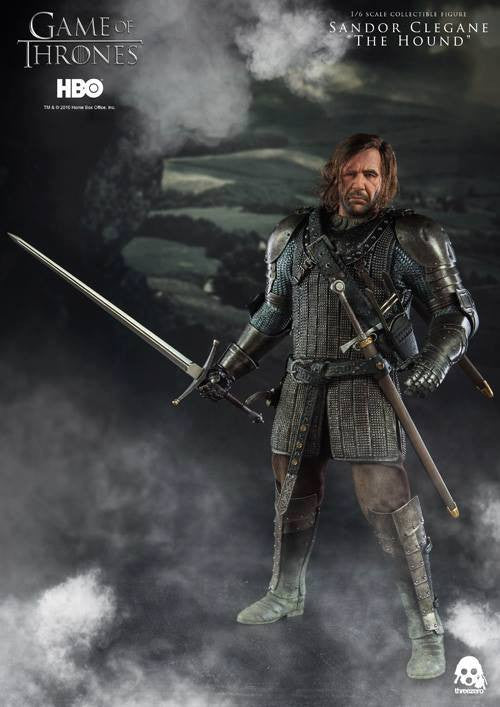 "ThreeZero - Game of Thrones - Sandor Clegand ""The Hound"" - Marvelous Toys - 13"