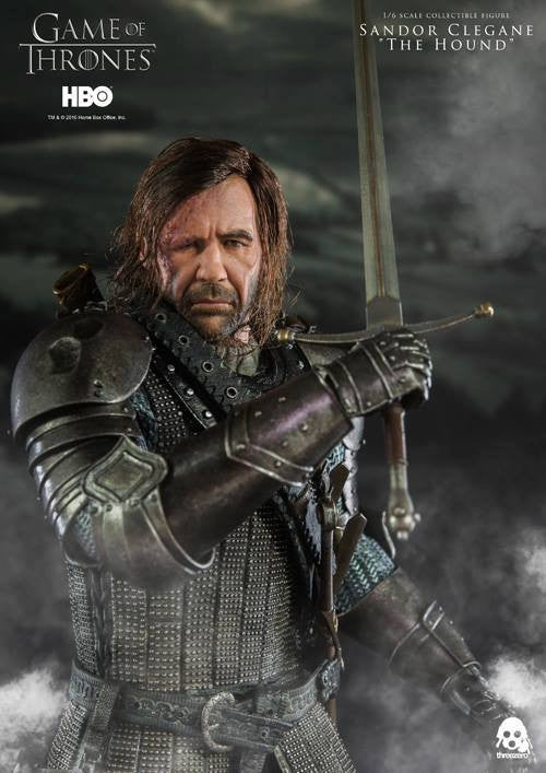 "ThreeZero - Game of Thrones - Sandor Clegand ""The Hound"" - Marvelous Toys - 14"