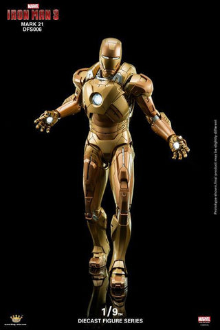 King Arts - DFS006 - Iron Man 3 - Iron Man Mark XXI (Midas) - Marvelous Toys - 1