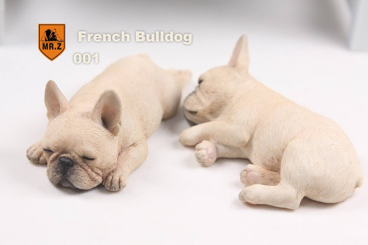 MR.Z - Real Animal Series No.9 - 1/6th Scale French Bulldog (Sleep Mode) 001-005 - Marvelous Toys - 2