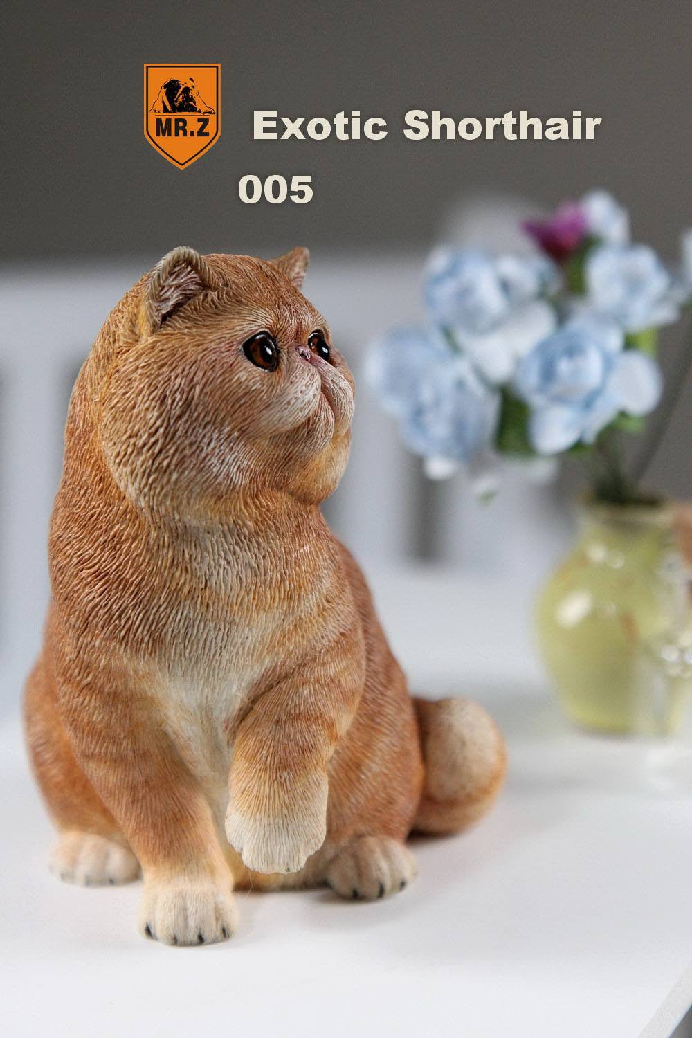 MR.Z - Real Animal Series No.8 - 1/6th Scale Exotic Shorthair Cat (Garfield) 001-005 - Marvelous Toys - 32