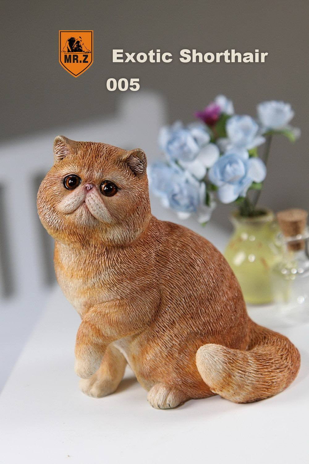MR.Z - Real Animal Series No.8 - 1/6th Scale Exotic Shorthair Cat (Garfield) 001-005 - Marvelous Toys - 33