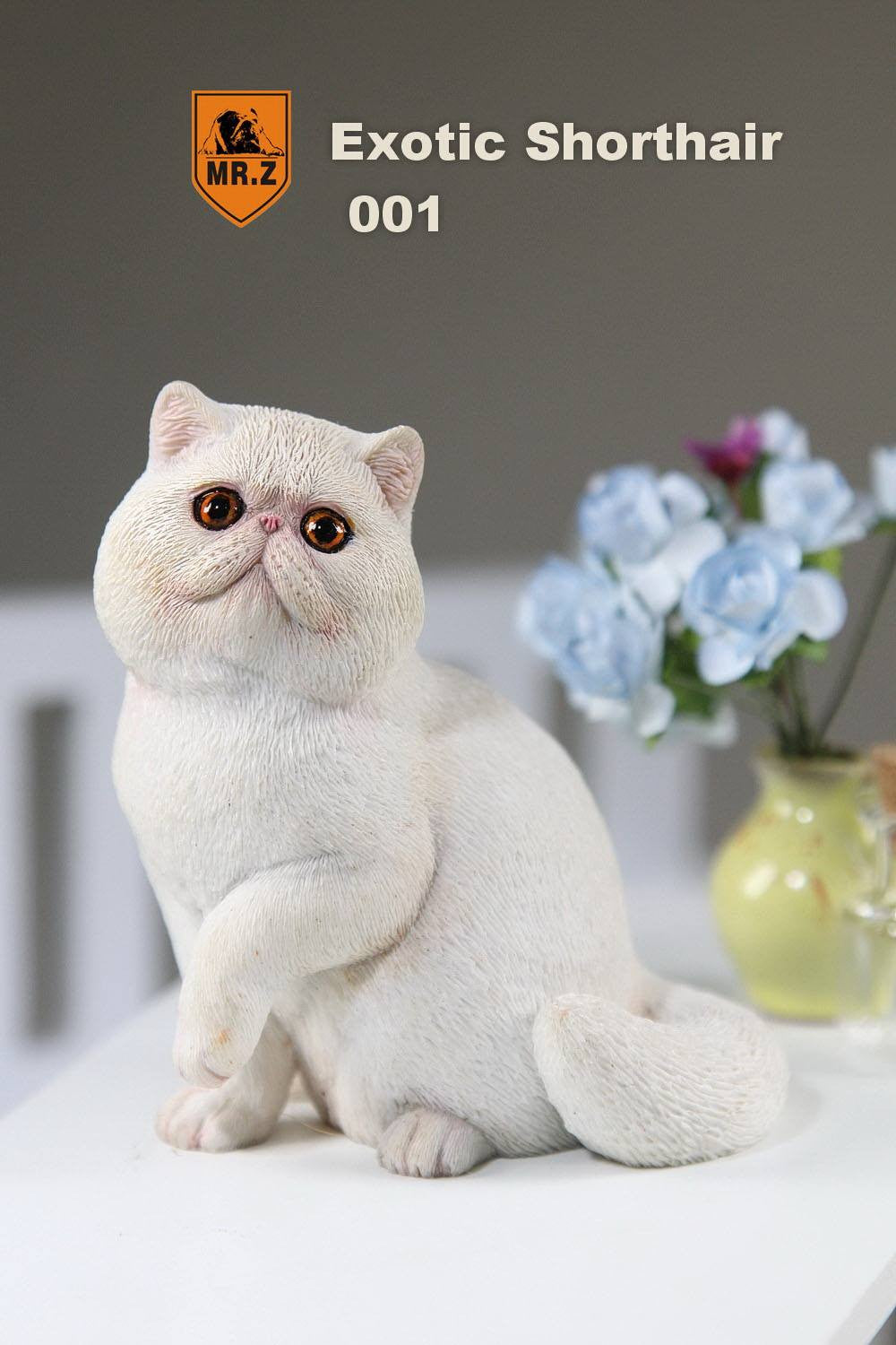 MR.Z - Real Animal Series No.8 - 1/6th Scale Exotic Shorthair Cat (Garfield) 001-005 - Marvelous Toys - 6