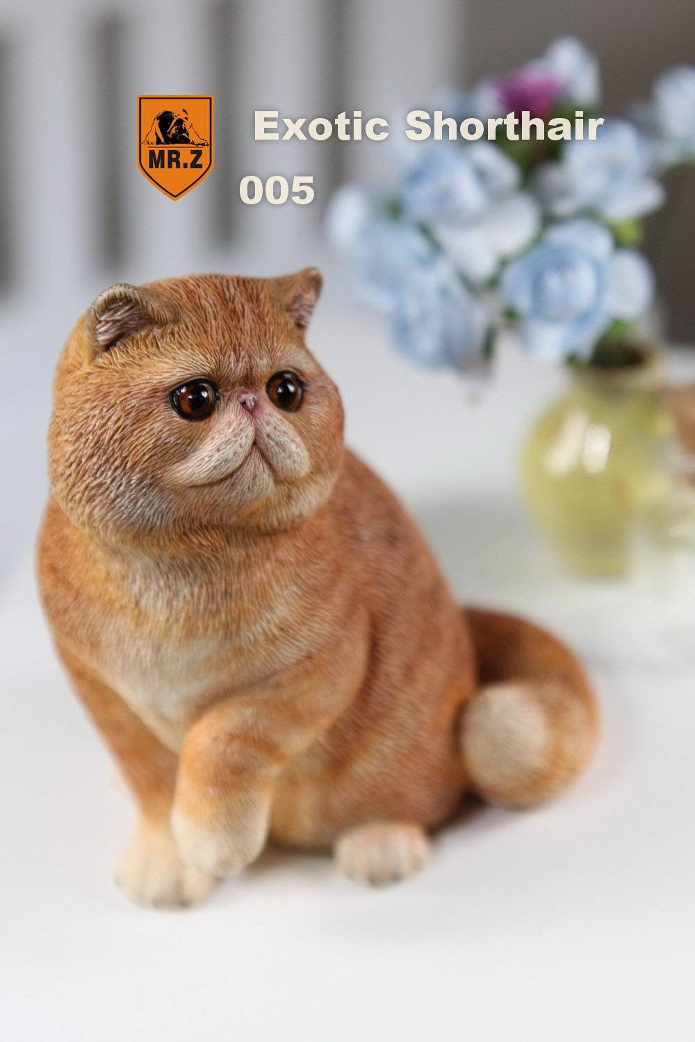 MR.Z - Real Animal Series No.8 - 1/6th Scale Exotic Shorthair Cat (Garfield) 001-005 - Marvelous Toys - 34