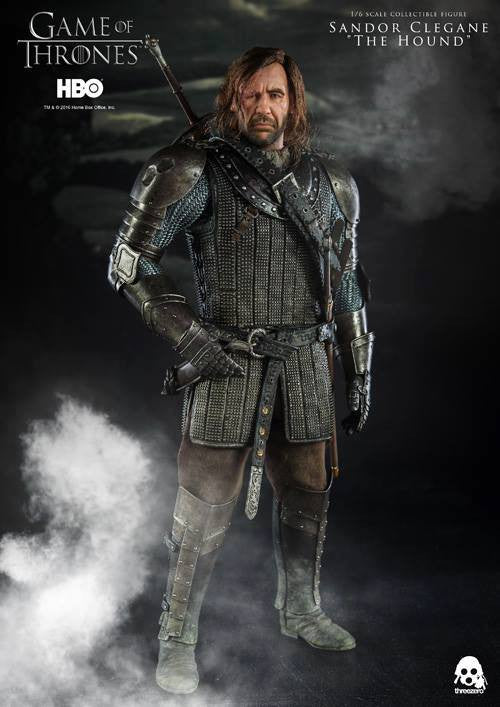 "ThreeZero - Game of Thrones - Sandor Clegand ""The Hound"" - Marvelous Toys - 15"