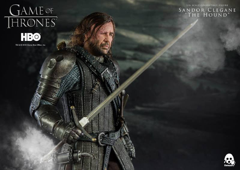 "ThreeZero - Game of Thrones - Sandor Clegand ""The Hound"" - Marvelous Toys - 17"