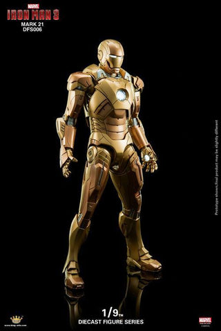 King Arts - DFS006 - Iron Man 3 - Iron Man Mark XXI (Midas) - Marvelous Toys - 2