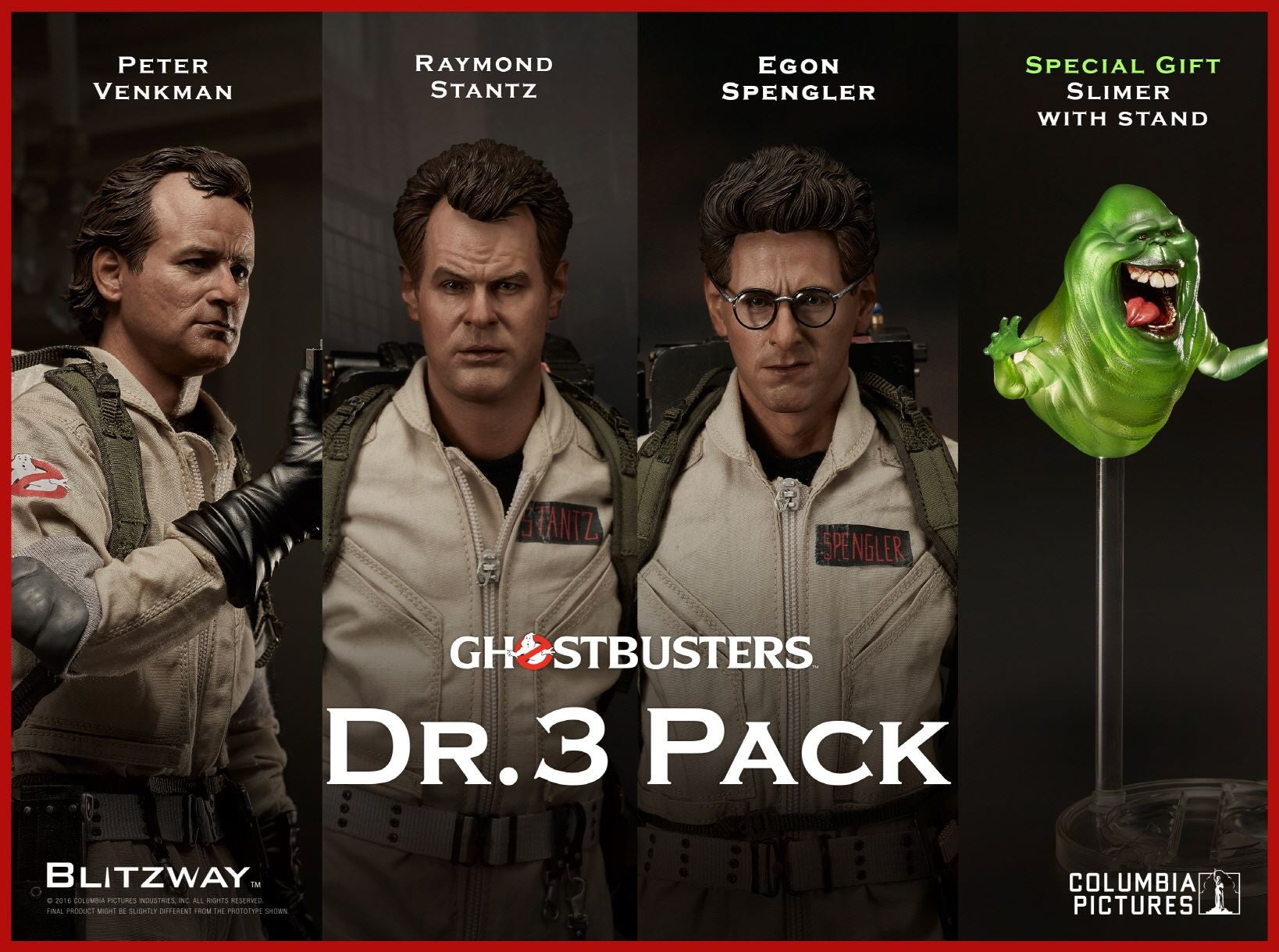 Blitzway - Ghostbusters 1984 Dr. 3 Pack - Marvelous Toys - 1
