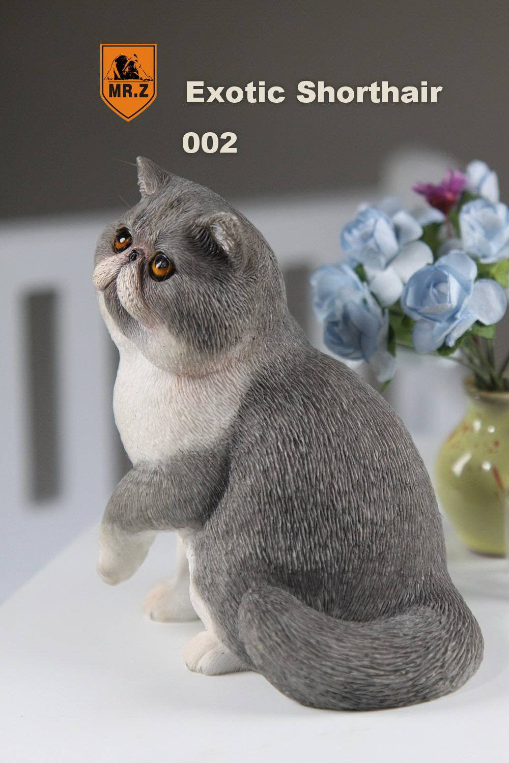 MR.Z - Real Animal Series No.8 - 1/6th Scale Exotic Shorthair Cat (Garfield) 001-005 - Marvelous Toys - 11