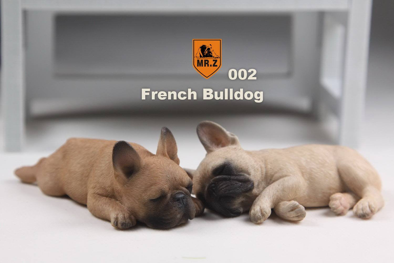 MR.Z - Real Animal Series No.9 - 1/6th Scale French Bulldog (Sleep Mode) 001-005 - Marvelous Toys - 10