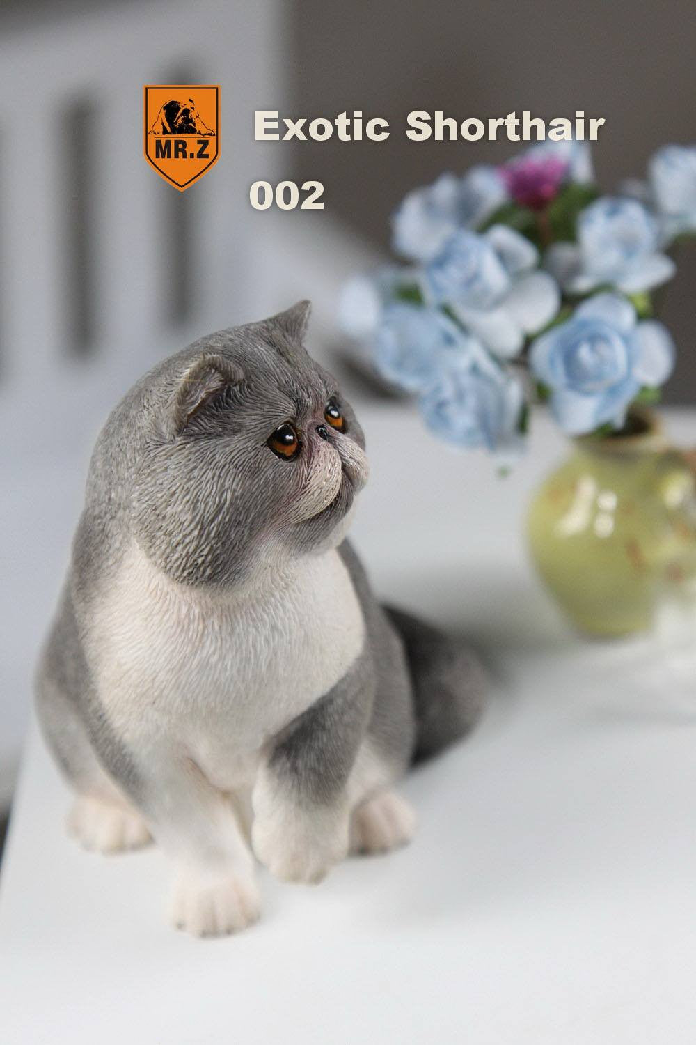 MR.Z - Real Animal Series No.8 - 1/6th Scale Exotic Shorthair Cat (Garfield) 001-005 - Marvelous Toys - 17