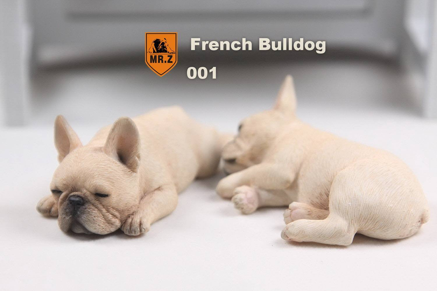 MR.Z - Real Animal Series No.9 - 1/6th Scale French Bulldog (Sleep Mode) 001-005 - Marvelous Toys - 3
