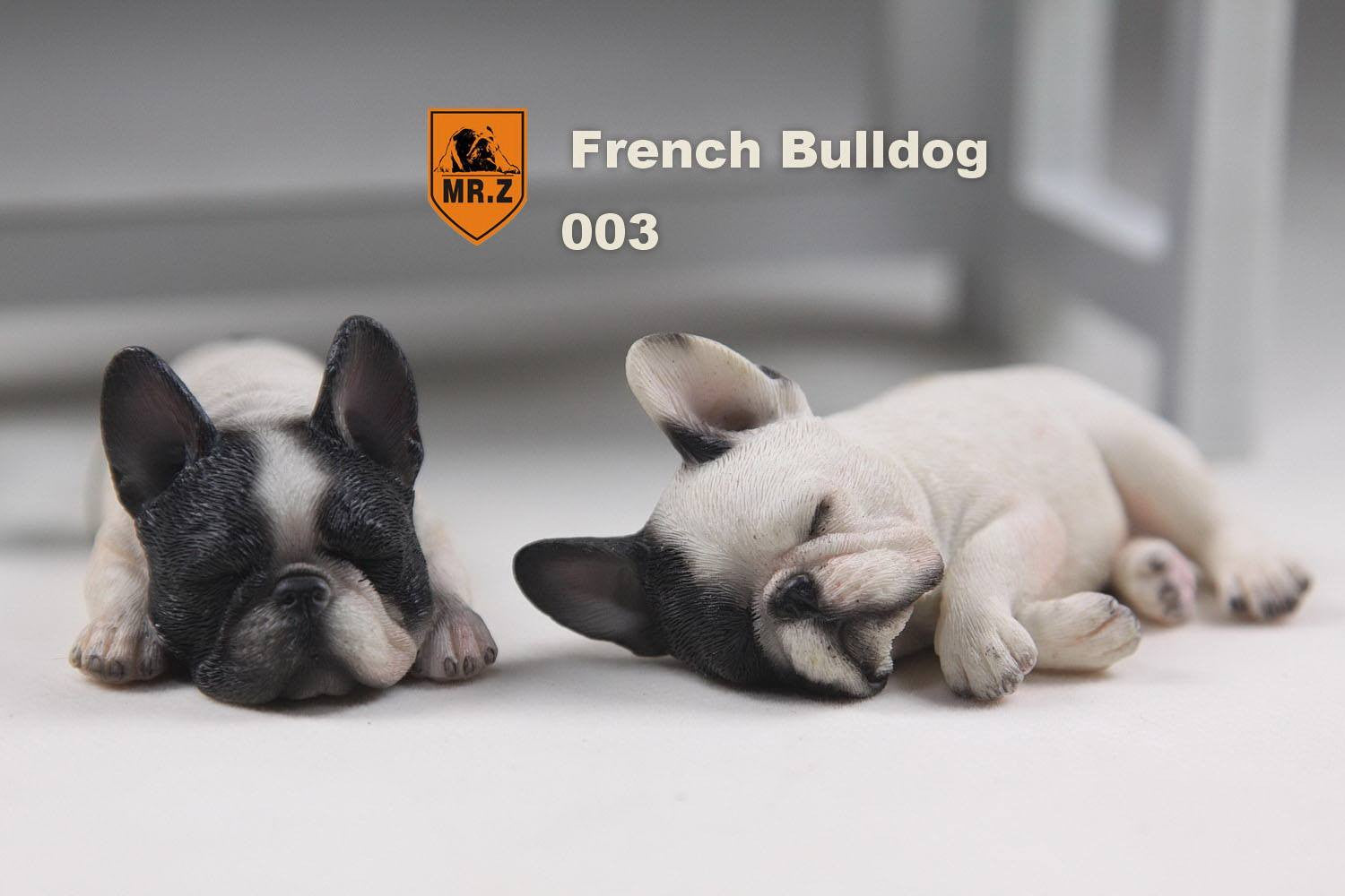 MR.Z - Real Animal Series No.9 - 1/6th Scale French Bulldog (Sleep Mode) 001-005 - Marvelous Toys - 14