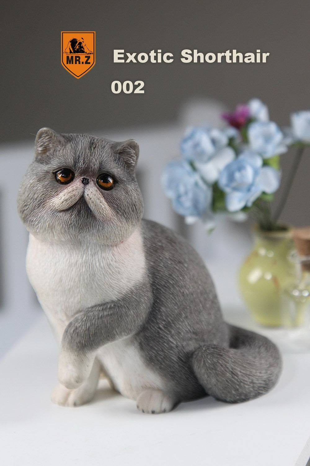 MR.Z - Real Animal Series No.8 - 1/6th Scale Exotic Shorthair Cat (Garfield) 001-005 - Marvelous Toys - 14