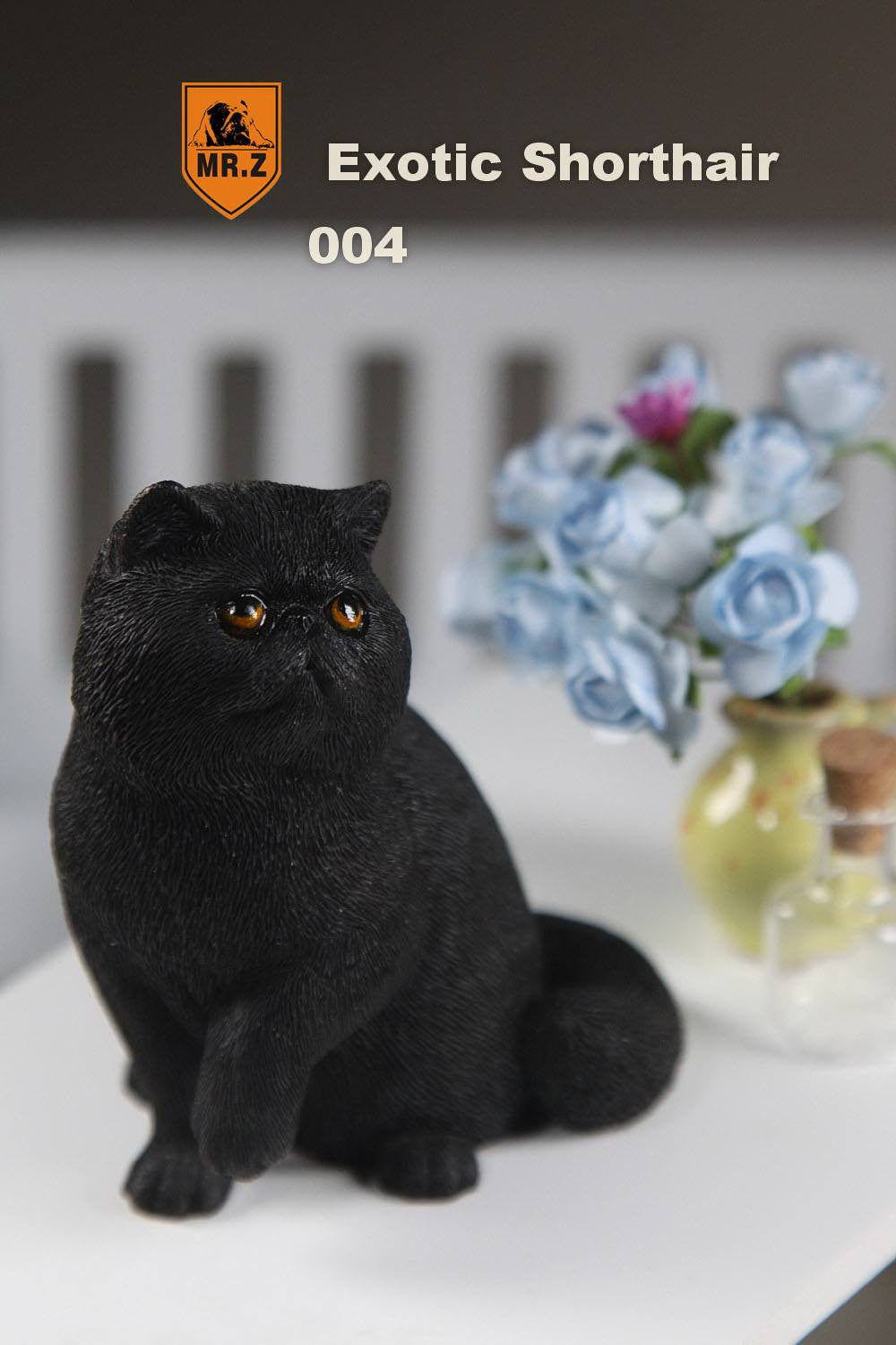 MR.Z - Real Animal Series No.8 - 1/6th Scale Exotic Shorthair Cat (Garfield) 001-005 - Marvelous Toys - 28