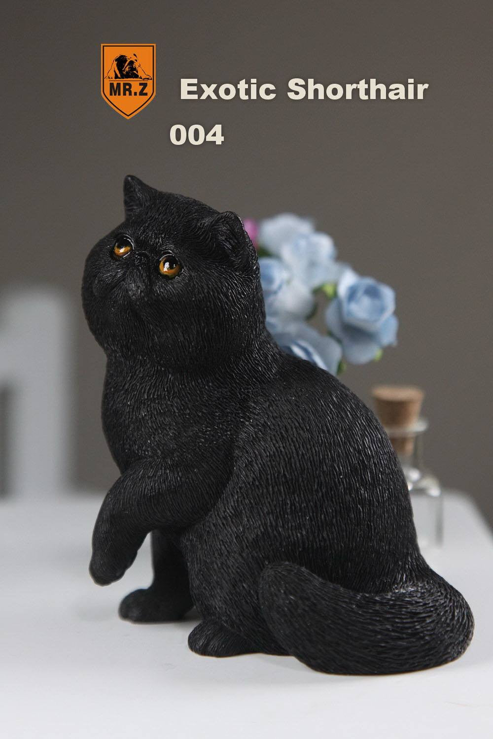 MR.Z - Real Animal Series No.8 - 1/6th Scale Exotic Shorthair Cat (Garfield) 001-005 - Marvelous Toys - 27