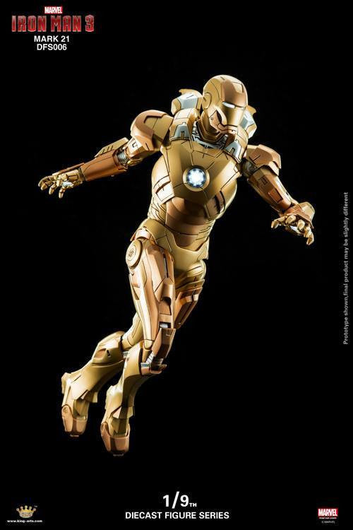 King Arts - DFS006 - Iron Man 3 - Iron Man Mark XXI (Midas) - Marvelous Toys - 3