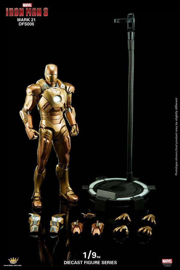 King Arts - DFS006 - Iron Man 3 - Iron Man Mark XXI (Midas) - Marvelous Toys - 9