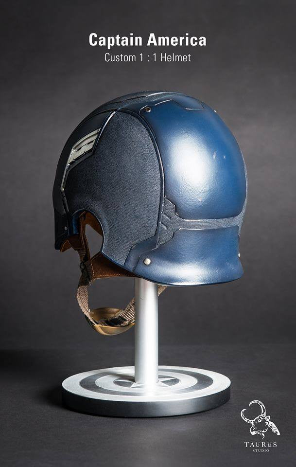 Toys Planet - Custom Captain America 1:1 Helmet - Marvelous Toys - 5