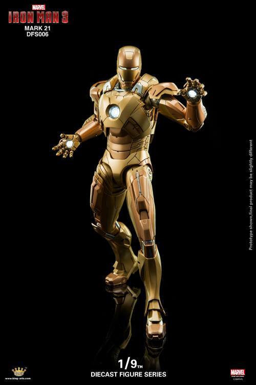 King Arts - DFS006 - Iron Man 3 - Iron Man Mark XXI (Midas) - Marvelous Toys - 4