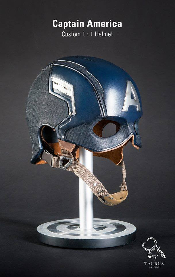 Toys Planet - Custom Captain America 1:1 Helmet - Marvelous Toys - 2