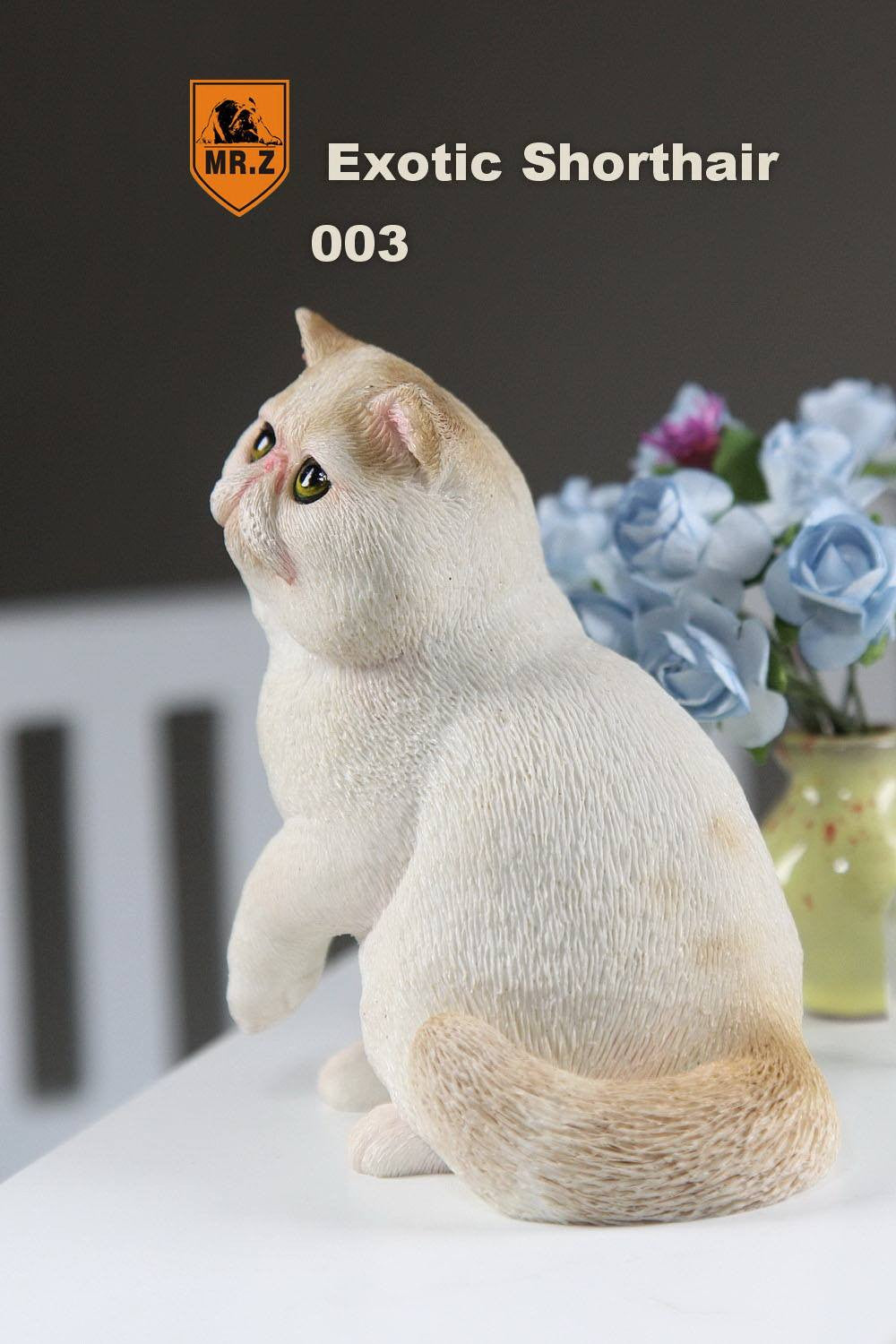 MR.Z - Real Animal Series No.8 - 1/6th Scale Exotic Shorthair Cat (Garfield) 001-005 - Marvelous Toys - 19