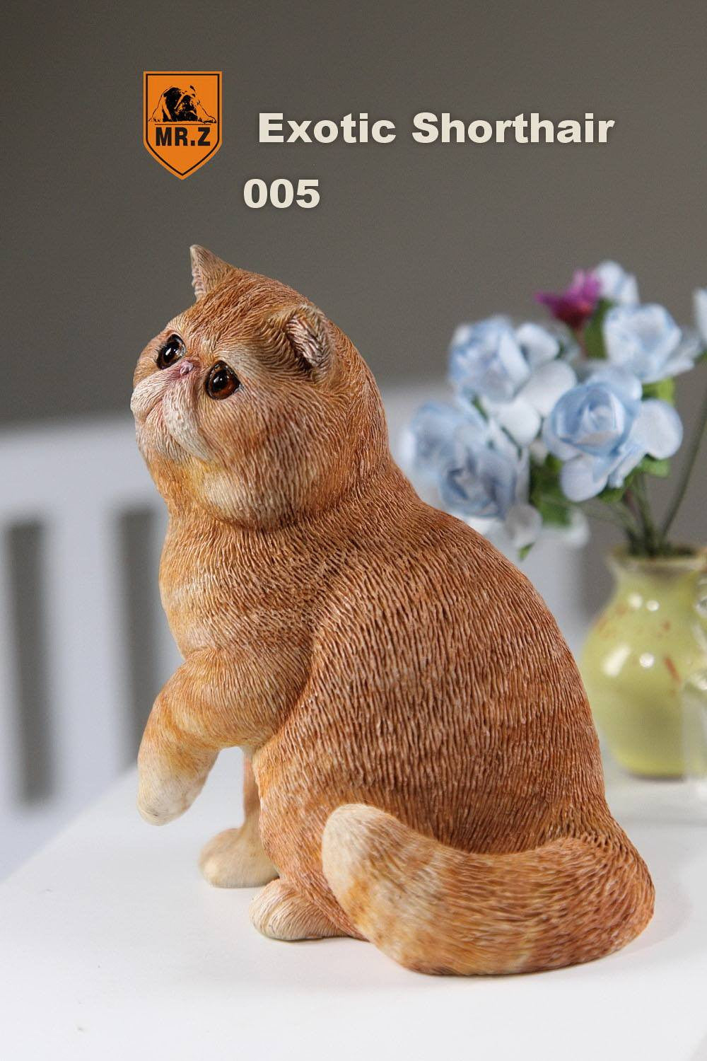 MR.Z - Real Animal Series No.8 - 1/6th Scale Exotic Shorthair Cat (Garfield) 001-005 - Marvelous Toys - 35