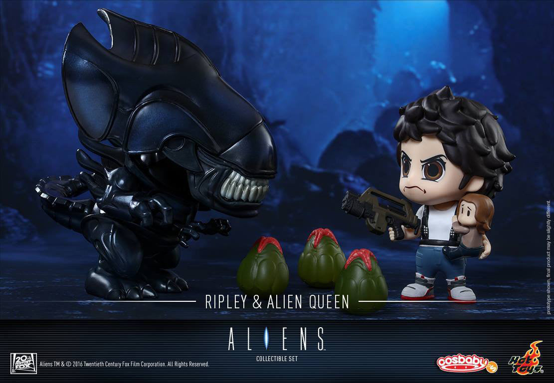 Hot Toys - COSB295 - Aliens - Ellen Ripley & Alien Queen Cosbaby (S) Set - Marvelous Toys - 4