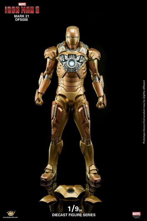King Arts - DFS006 - Iron Man 3 - Iron Man Mark XXI (Midas) - Marvelous Toys - 6