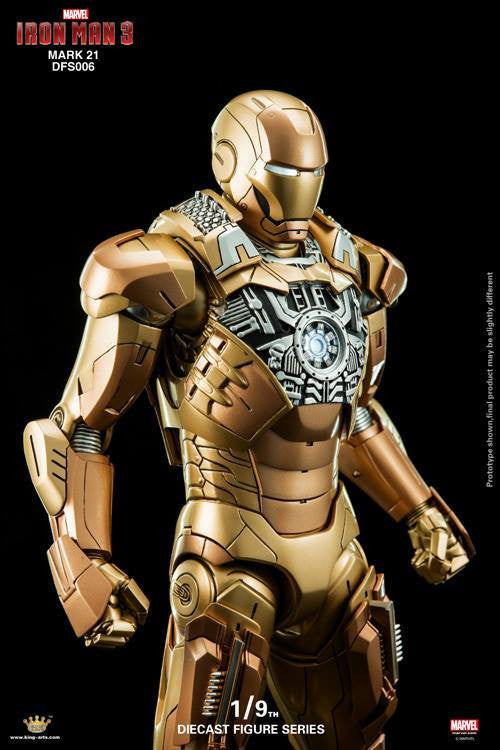 King Arts - DFS006 - Iron Man 3 - Iron Man Mark XXI (Midas) - Marvelous Toys - 7
