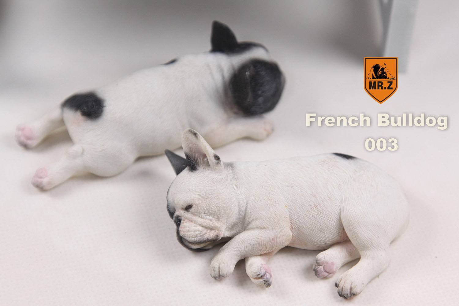 MR.Z - Real Animal Series No.9 - 1/6th Scale French Bulldog (Sleep Mode) 001-005 - Marvelous Toys - 16