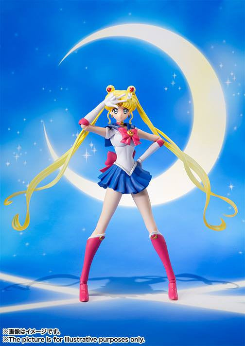 S.H.Figuarts - Sailor Moon Crystal - Sailor Moon - Marvelous Toys - 1