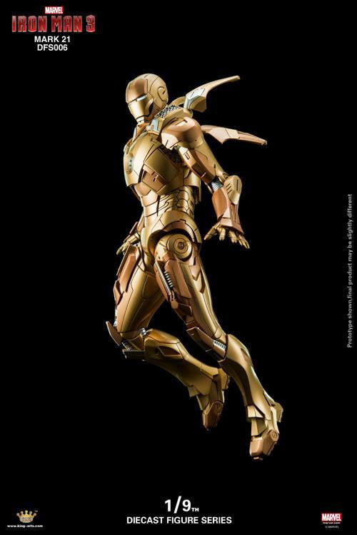 King Arts - DFS006 - Iron Man 3 - Iron Man Mark XXI (Midas) - Marvelous Toys - 8