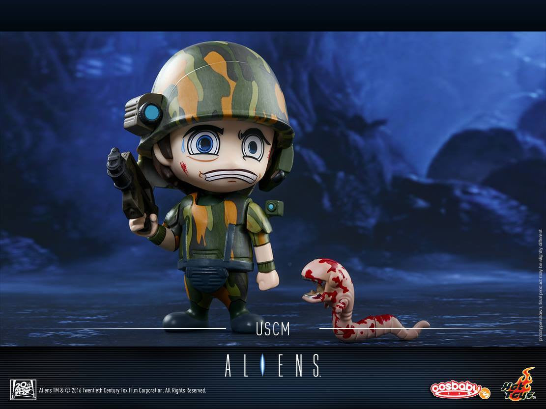 Hot Toys - COSB297 - Aliens - USCM Cosbaby (S) - Marvelous Toys - 3