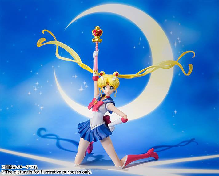 S.H.Figuarts - Sailor Moon Crystal - Sailor Moon - Marvelous Toys - 3