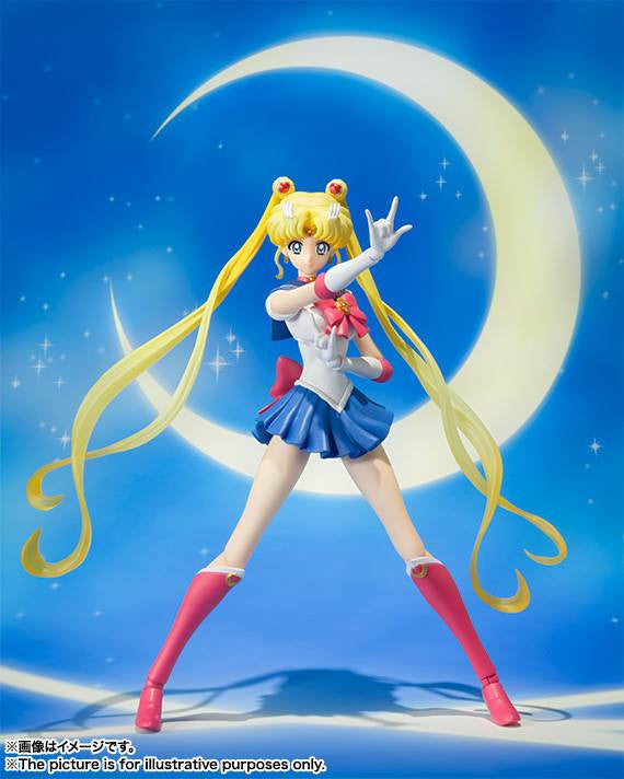 S.H.Figuarts - Sailor Moon Crystal - Sailor Moon - Marvelous Toys - 4