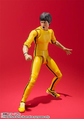 S.H.Figuarts - Bruce Lee (Yellow Track Suit) - Marvelous Toys - 2